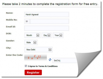 160by2 registration page