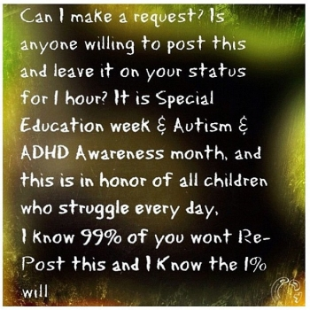 #autism #specialeducation #ADHD #awareness @dave_cali