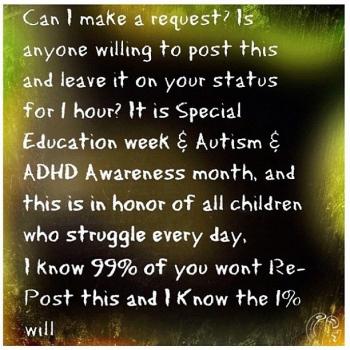 #autism #specialeducation #ADHD #awareness @dave_cali
