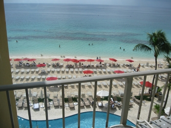 Beach at Marriott on Grand Cayman Island