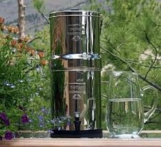 Berkey Water Purifier: Removes Chlorine and Harmful Chemicals