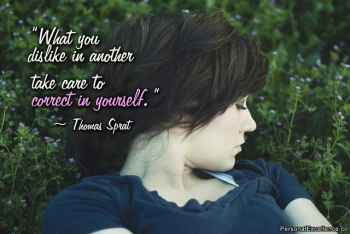 Correct in Yourself