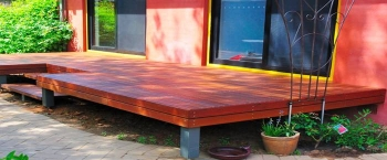 How to Easily Build a Timber Deck