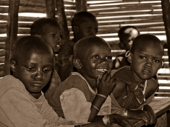 Maasai School Children