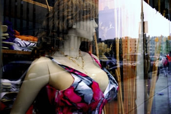 Mannequin boobs are getting bigger
