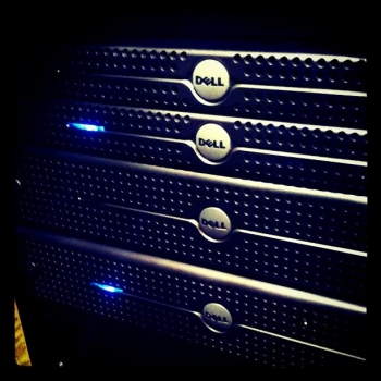 My server rack.