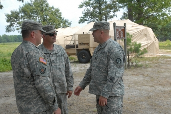 TAG visits 58th Battlefield Surveillance Brigade