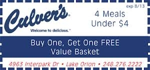 Three Online Resources for Culvers Coupons