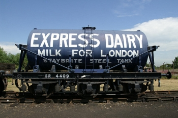 6 Wheeled Milk Wagon
