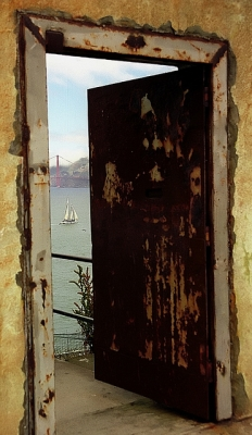 Alcatraz - Exercise Yard Exit Door