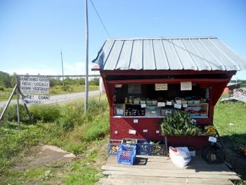 Amish farmstand