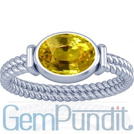 Astrological Benefits of Wearing Yellow Sapphire Jewelry