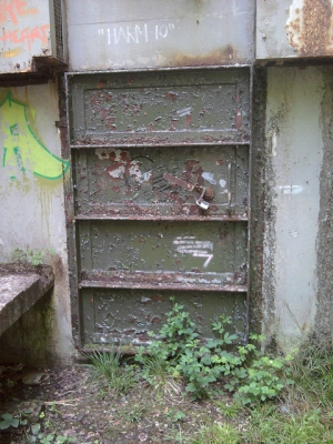 Door To A Bunker