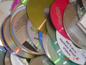 CD and DVD recycling