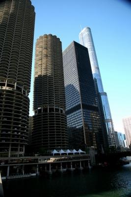 Chicago (ILL), Chicago River, River North :
