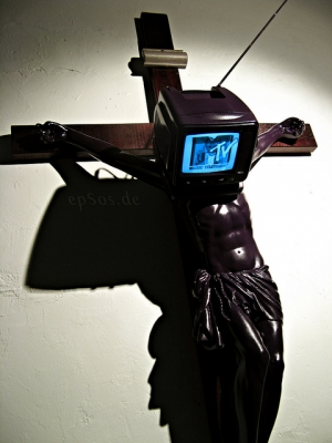 Christian Jesus Cross is critical about TV and Religion