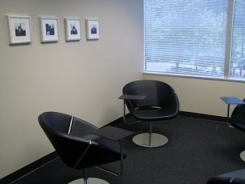 A pleasant office space
