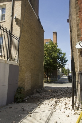 DC Earthquake Damage to Embassy of Ecuador