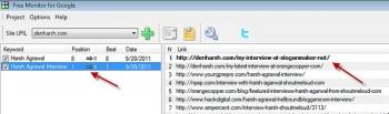 Free SEO Keyword Monitor Software