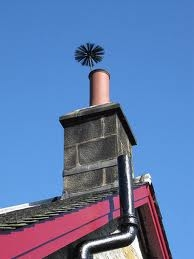 Getting it out of the chimney