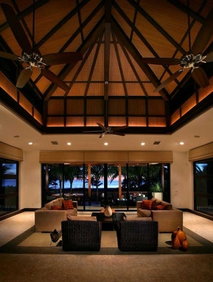 How To Make a High Ceiling Seem Lower