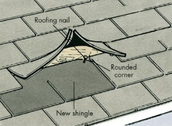 How To Repair a Shingle Roof