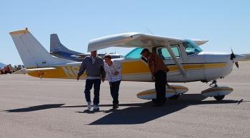 Piloting a small plane isa good start