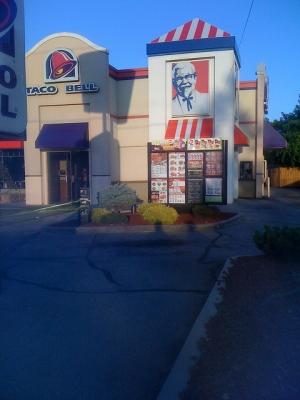 KFC/Taco Bell -famous franchises