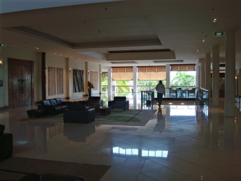 Lobby of our Resort
