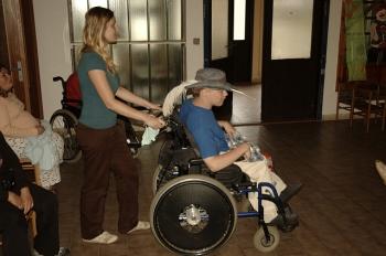 Masakr vozíčkářů / Wheelchairs slaughter III.