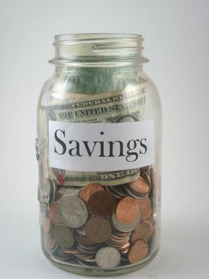 Money Savings Jar