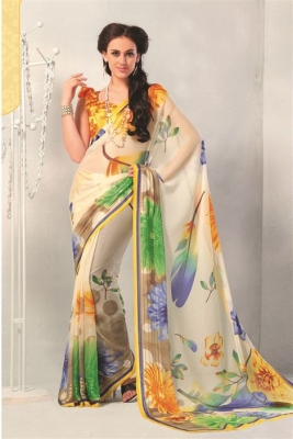 Printed Casual Sarees All time Beautiful & Elegant Attire