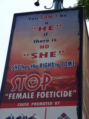 Stop female foeticide: She has the right to come