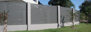 Stylish Slat Fencing and Screening that is Easy to Install