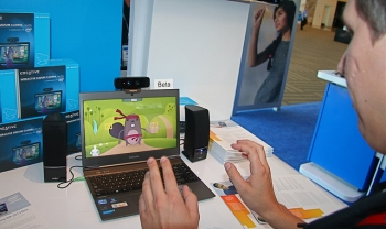 Ultrabook with Gesture Recognition Camera
