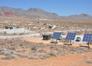 """USACE brings """"green"""" power to Red Rock Canyon National Conservation Area"""